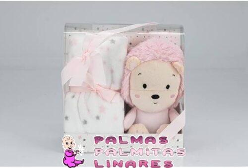 Peluche + Manta rosa 1