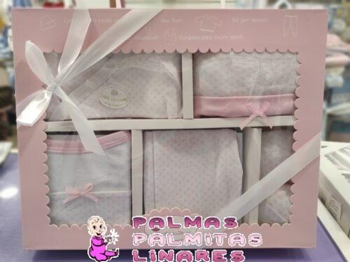 Set Nacimiento 5 piezas rosa 1