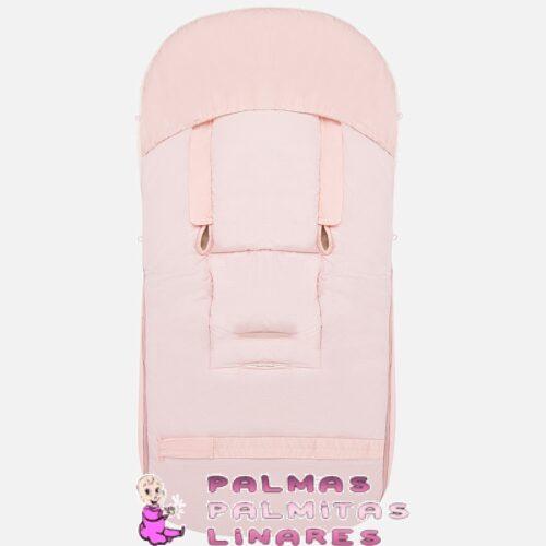 Saco para silla detalle pelo polipiel rosa 2