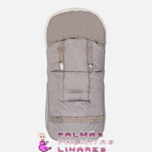 Saco para silla detalle pelo con polipiel gris 2
